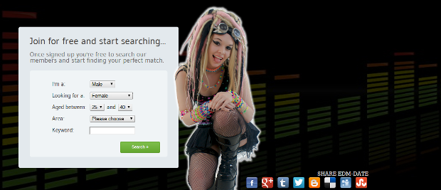 What is edm in dating sites
