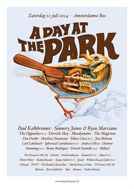 A Day at the Park programma 2014