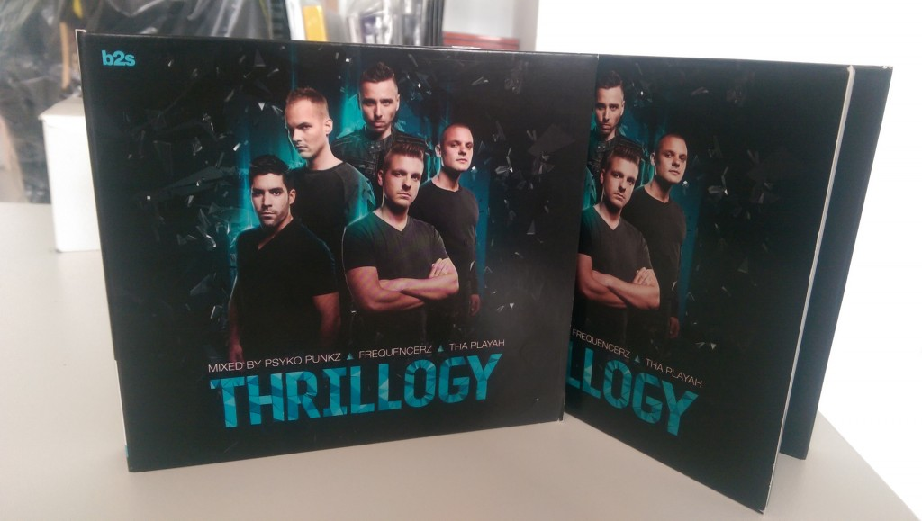 Thrillogy CD