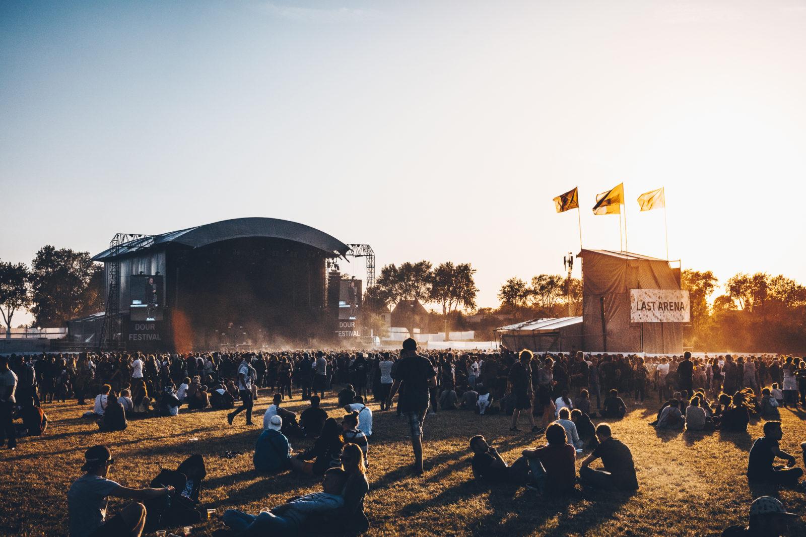 Dour Festival 2018.