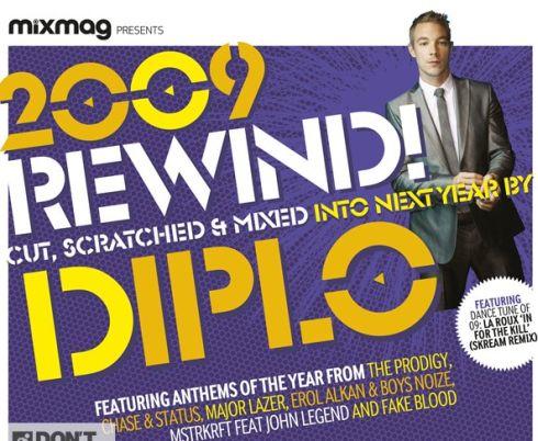 Op de cover van het decembernummer van Mixmag, het meest populaire dance-magazine van Engeland, zit een gratis mixalbum verzorgd door Diplo.