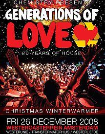 Generations of Love op Tweede Kerstdag in Amsterdam