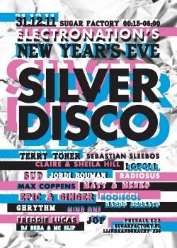 silver disco